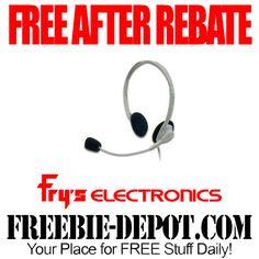 FREE AFTER REBATE – Lightweight Headset - Exp 3/20/14