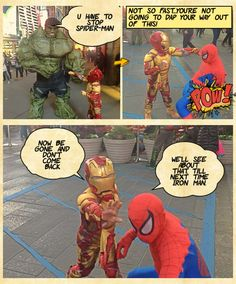 Iron Man Saves the Day