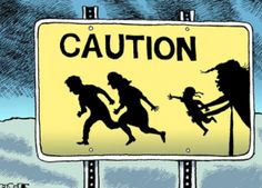 Pittsburgh Post-Gazette political cartoonist Rob Rogers is seeing many anti-Trump cartoons spiked - The Washington Post Anti Trump Cartoons, Trump Political Cartoon, Political Cartoons, Political Satire, Political Beliefs, Caricatures, Family Separation, Horror, Thing 1