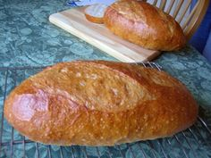 french bread - shaping a batard, this is a good video from the Fresh Loaf.