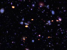 ALMA deep view of part of the Hubble Ultra Deep Field Credit: B. Saxton; ALMA; NASA/ESA Hubble
