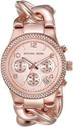 3408dfcc27d2 Michael Kors Women s Runway Rose Gold-Tone Watch MK3247