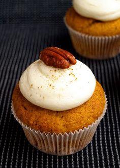 CHEZ LUCIE: Dýňové cupcakes