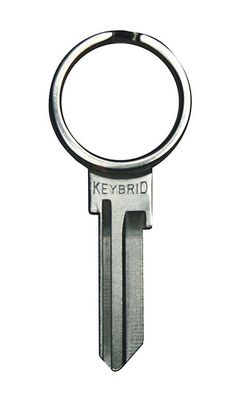Keybrid Key Ring - it's a key and a ring all in one! #product_design