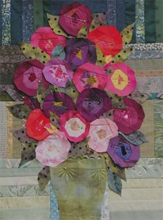 little bouquet quilt along ready to quilt | Flickr - Photo Sharing!