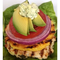 Take a bite of summer with these asian turkey burgers with grilled pineapple--one of m... | Use Instagram online! Websta is the Best Instagram Web Viewer!