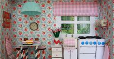 Back in August, while browsing the new Cath Kidston catalogue, I found the most delightful crafty competition. You had to make a room ...