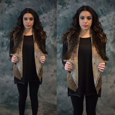 Harper Vest Beautiful suede and amazingly soft vest. 100% polyester. Available in small medium and large, please contact me for your own listing! Lewboutiquetwo Jackets & Coats Vests