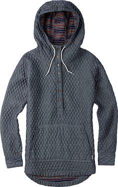 Burton Cabo Woven Pullover - Women's Snowboard Jacket - Hoodie - Hoody - Gift Idea - Snowboarding - Christy Sports - 2014