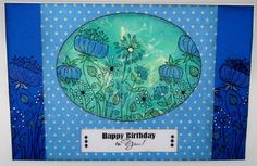 Sketch 52 at Woodware (Kim x) Flower Sketches, Meadow Flowers, Arts And Crafts, Diy Crafts, House Mouse, Flower Stamp, Card Making, Happy Birthday, Design Inspiration