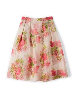 Pandora Skirt WG596 A-line & Full at Boden