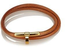 Hermes Pre-owned: Leather Choker Necklace.