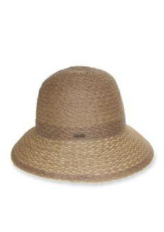 Nine West  Braided Sheer Cloche Hat