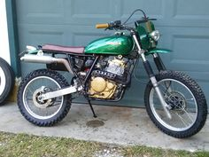 94 Honda xr650l built by Dave Johnson in clearwater Florida