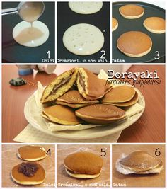 Stuff your pancakes with Nutella; Berries & Cream cheese or Nutella; Sweet Recipes, Snack Recipes, Dessert Recipes, Cooking Recipes, Nutella Pancakes, Delicious Desserts, Yummy Food, Crepes, Creative Food