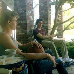 #tmr #bts #Thomas #Dylan #break #cookies #cigarette #photo #newtmas