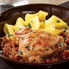 Wine & Tomato Braised Chicken