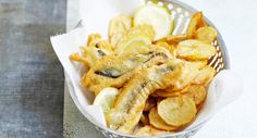 Fish and Chips revisité, Voir la recette du Fish and Chips revisité >>