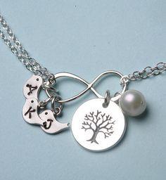 family tree necklace. LOVE!!