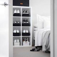 #hypefeet: Bedroom goals. Photo: @davidgrr