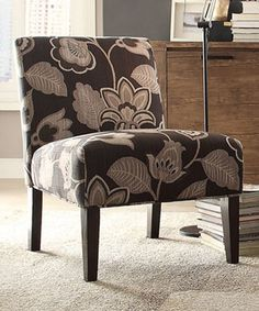 Pink Floral Accent Chair From Wayfair Trendy And