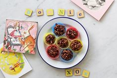 Healthy Kids Party Food - chocolate crackles, GF Lemon cake w/ pink strawberry frosting & mini corn fritters — bonnie delicious