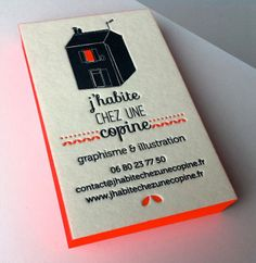 Cartes De Visite Cartons Graphisme Impression Carte Typographique Typographie Cv Graphique