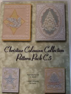 PATTERN PACK C5 BY CHRISTINE COLEMAN      Christmas patterns by Christine Coleman.