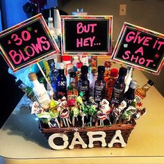 18 Awesome 30th Birthday Ideas Best Friend Basket Bestfriend