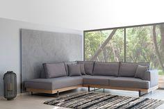 Καναπές Γωνία Prestige Sofa Design, Outdoor Furniture, Outdoor Decor, My House, Dining Room, Couch, Home Decor, Women, Couches
