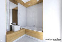 Łazienka styl Minimalistyczny - zdjęcie od design me too - Łazienka - Styl Minimalistyczny - design me too Malaga, Bathtub, House Design, Bathroom, Home, Standing Bath, Bath Room, Bath Tub, Ad Home