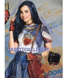 Sofia Carson as Evie Mal Descendants Costume, Descendants Wicked World, Disney Channel Descendants, Sofia Carson, Diy Costumes, Halloween Costumes, Evie Costume, Mal And Evie, Adventures In Babysitting