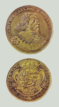 Gold crown medal thaler of Ladislaus IV Vasa by Jakob Jacobson, National Museum in Kraków. Paypal Money Adder 2017, Poland History, Gold Crown, Rare Coins, Coin Collecting, National Museum, Byzantine, Rugs On Carpet, Antiques