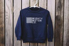 Mighty Kids :: Mighty Motor Co. Fleece Raglan – The Mighty Motor