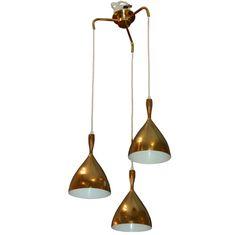 Dokka Pendant Lamp / Norway / 1950s