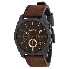 5e6692f941fe Relojes Fossil Fs4656 Cuero Cronogra Original Nuevos En Caja - U S 149