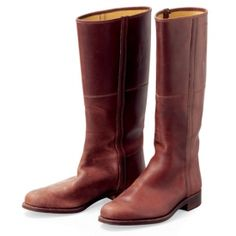 Spanish riding boots :. Volga Linen