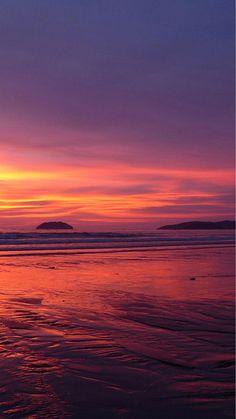 Nature pure fantasy beach sunset skyline iphone 8 plus wallpaper. Iphone Wallpaper Travel, Sunset Iphone Wallpaper, Beach Sunset Wallpaper, Ocean Wallpaper, Iphone Background Wallpaper, Nature Wallpaper, Iphone Backgrounds, Wallpaper Quotes, Pink Sunset