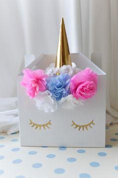 DIY Unicorn Party Boxes | party alphabet