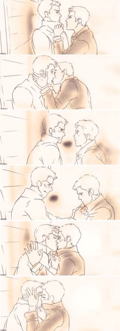 I think I have an evil laugh now that is strictly reserved for Destiel drawings