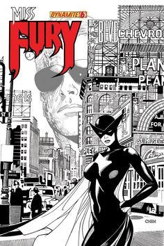 Miss Fury #6 #Dynamite #MissFury