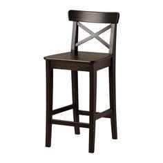 INGOLF Barstol IKEA Med fotstöd; ger vila för dina fötter.