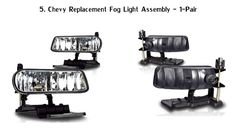 Top 5 Best Fog Light Reviews 2016 Cheap Fog Lights Best Fog Lights for T...
