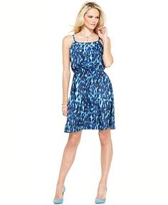 Calvin Klein Jeans Dress - Animal Print