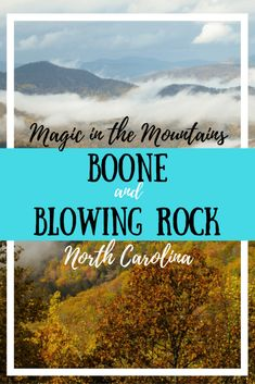 The Magic of the Mountains: Boone and Blowing Rock A thriving college town and a little village in the mountains - what more could you want in a weekend getaway? Hiking, restaurants, and cool vibes in Boone and Blowing Rock North Carolina. Blowing Rock North Carolina, Boone North Carolina, Blowing Rock Nc, North Carolina Vacations, North Carolina Mountains, South Carolina, North Carolina Cities, Maggie Valley North Carolina, Hickory North Carolina