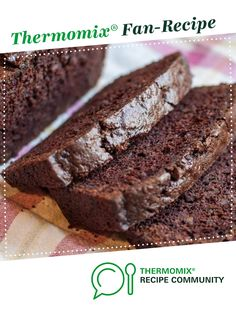 Recipe Chocolate Zucchini Bread (Gluten Free) by The Naked Baker, learn to make this recipe easily in your kitchen machine and discover other Thermomix recipes in Baking - sweet. Chocolate Zucchini Loaf, Gluten Free Chocolate Cake, Chocolate Recipes, Thermomix Chocolate Cake, Thermomix Recipes Healthy, Thermomix Desserts, Keto Recipes, Cake Recipes, Pear And Almond Cake