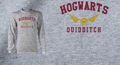 Hogwarts Quidditch Pop Up Tee