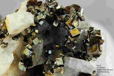 Pyrit-----------------------Harzer Gabbro-Steinbruch der Norddeutsche Naturstein GmbH, Bad Harzburg, Niedersachsen, Germany, Copyright © H. Stoya