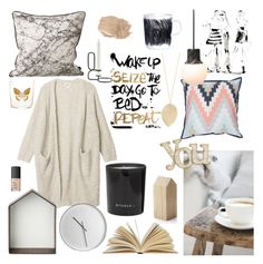 COZY FALL! by junesdagbokpoly on Polyvore featuring Monki, NARS Cosmetics, ferm LIVING, Yoco Nagamiya, Rituals, applicata, Marimekko, &Tradition, Zara Home and HAY