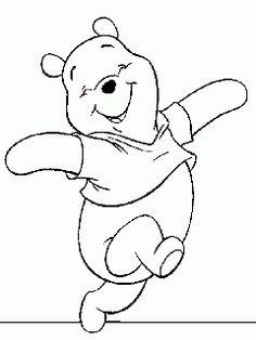 obr. 699 - omalovánky Medvídek Pú seriál